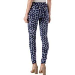 Michael Kors Paisley Pull on Skinny Jeans